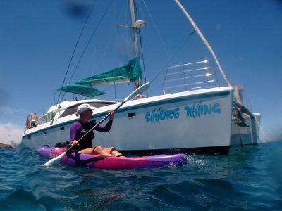 Kayaking on Ningaloo Reef