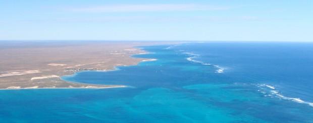 Aerial views of Ningaloo Reef